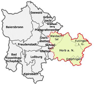 Das Einzugsgebiet der Roßbergschule